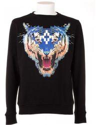 "Marcelo Burlon Cotton Black ""Tiger"" Sweater black - Lyst"