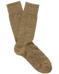 Isabel Marant Yiley Metallic Socks - Lyst