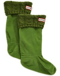 Hunter Knit Accented Boot Socks - Lyst