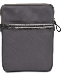 Vanessa Bruno Tablet Cover In Canvas - Lyst
