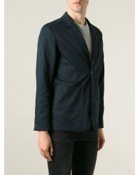 G-Star RAW Buttoned Blazer - Blue