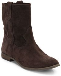 Vince Camuto Fanti Suede Boots - Lyst