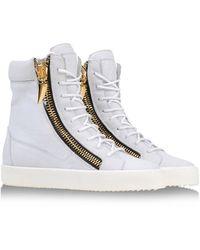Giuseppe Zanotti High-top Sneakers - Lyst