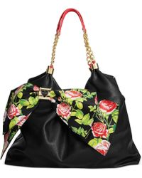 Betsey Johnson Bowlicious Tote - Lyst