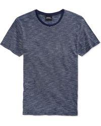 Wesc Kendy Striped T-Shirt blue - Lyst