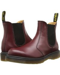 Dr. Martens Red 2976 - Lyst