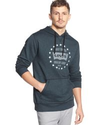 Levi's Duo Dye Graphic Hoodie - Lyst
