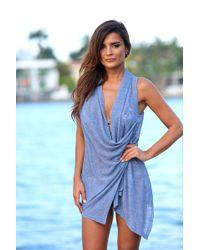 Bikini.com - Button Vest - Lyst
