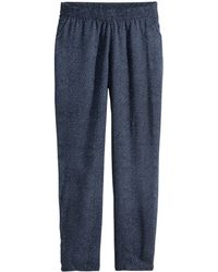 H&M Trousers Loose Fit - Lyst
