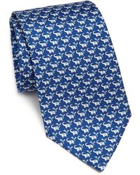 Ferragamo | Elephant & Bird Silk Tie | Lyst