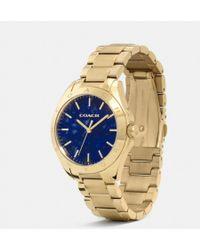 Coach Tristen Color Dial Watch - Lyst