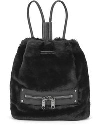 MILLY - Skylar Fur Collection Backpack - Lyst