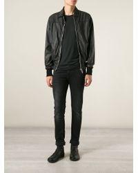 Wlg By Giorgio Brato - Leather Zipped Jacket - Lyst