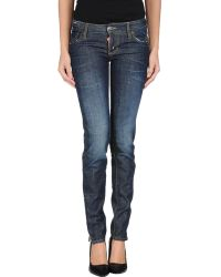 DSquared² Denim Trousers - Lyst