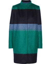 Vionnet Colorblock Woolblend Coat - Lyst