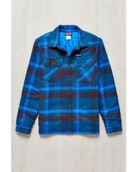 Patagonia - Insulated Fjord Flannel Jacket - Lyst