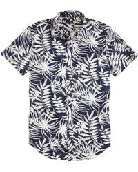 J.Crew Hopley Plaid Flannel Shirt blue - Lyst