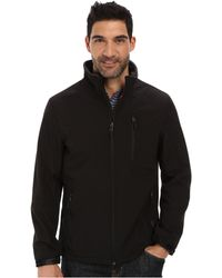 Calvin Klein Full Zip Softshell Jacket - Lyst