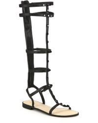 Rebecca Minkoff   Giselle Studded Gladiator Sandals   Lyst