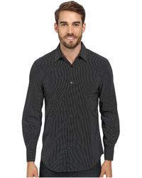 Perry Ellis Exclusive Micro Dot Pattern French Cuff Dress Shirt - Lyst