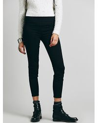 Free People Black Jean Legging - Lyst