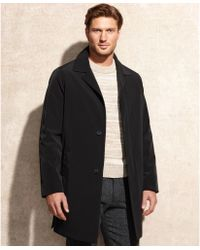 Calvin Klein Park Single Breasted Raincoat - Lyst