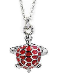 Jan Leslie Turtle Pendant / Charm Necklace - Lyst