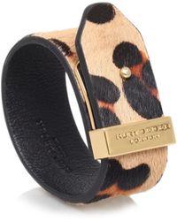Kurt Geiger - Leopard Pony Bracelet - Lyst