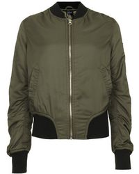 Topshop Tall Ultimate Ma1 Bomber Jacket - Lyst
