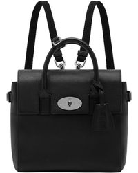 Mulberry Mini Cara Delevingne Leather Backpack - Lyst