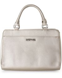Kenneth Cole Reaction Metallic Aria Satchel - Lyst