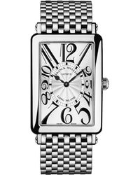 Franck Muller - Ladies Long Island Stainless Steel Watch - Lyst