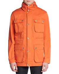 Michael Kors Cotton Twill Utility Jacket - Lyst