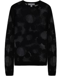 Mulberry Lace Flower Jumper - Lyst