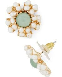 Ana Accessories Inc - Reach For The Moonflower Earring - Lyst