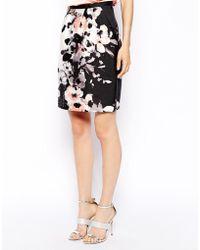 Coast - Alize Printed Skirt - Lyst