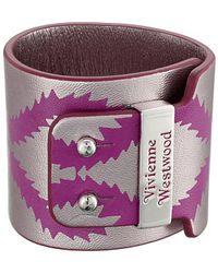 Vivienne Westwood Celeste Cuff purple - Lyst