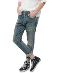 Citizens of Humanity Corey Slouchy Slim blue - Lyst