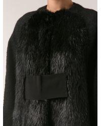 Giambattista Valli Oversized Coat - Lyst