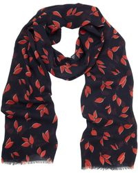 Mulberry Printed Scarf - Lyst