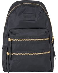Marc By Marc Jacobs - Black Leather Trim Backpack - Lyst