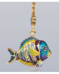 Jay Strongwater - Linus Tropical Fish Charm - Lyst