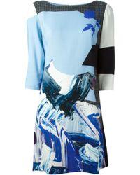 Prabal Gurung Printed Shift Dress - Lyst