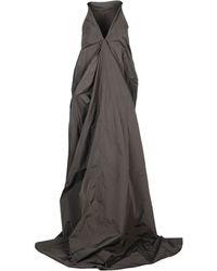 Rick Owens Long Dress - Lyst