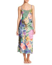 Natori Tahiti Gown multicolor - Lyst