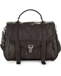 Proenza Schouler Extra-large Buffalo Messenger Bag - Brown