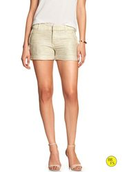 Banana Republic Factory Bouclé Short - Lyst