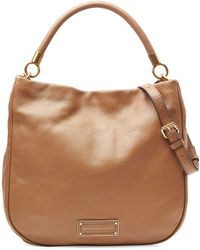 Marc By Marc Jacobs Too Hot To Handle Leather Hobo - Lyst