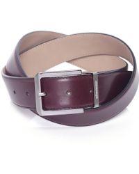 Stemar - Leather Milano Belt - Lyst