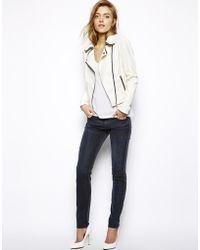 Koral Color Block Skinny Jeans - Black
